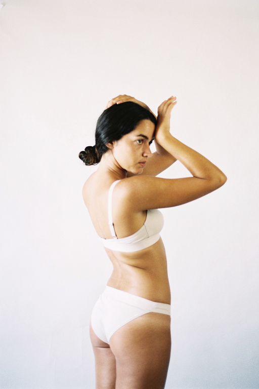 The Nude Label Sporty Bra- Off White