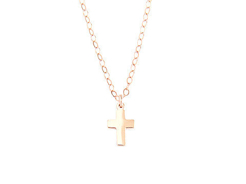 Seoul Little Cross Necklace