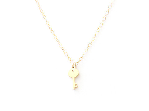 Seoul Little Key Necklace