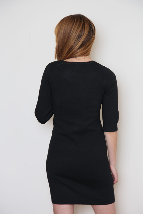 mary meyer body con dress