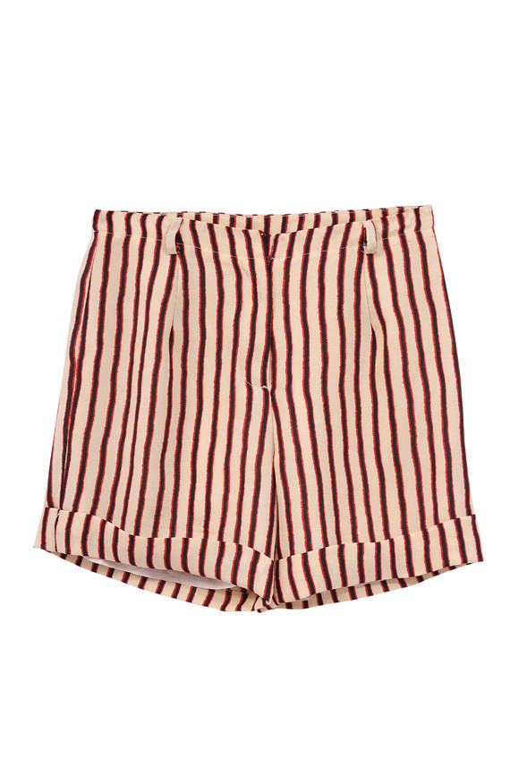 The Korner Retro Stripe Shorts