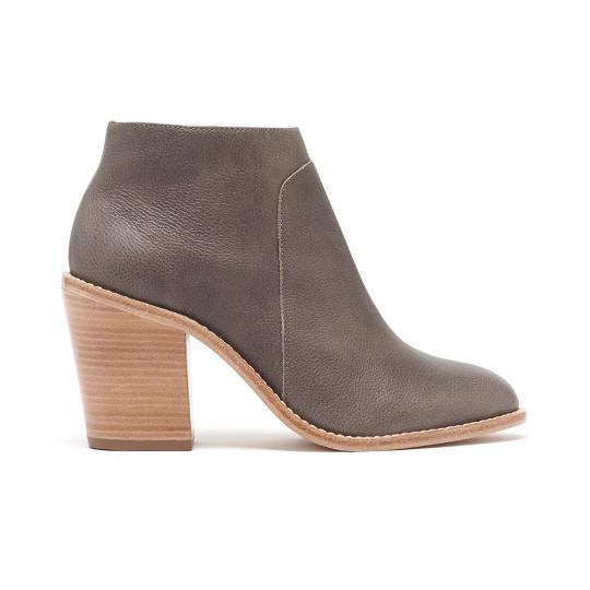 Loeffler Randall  Ella Ankle Stacked Heel Boot