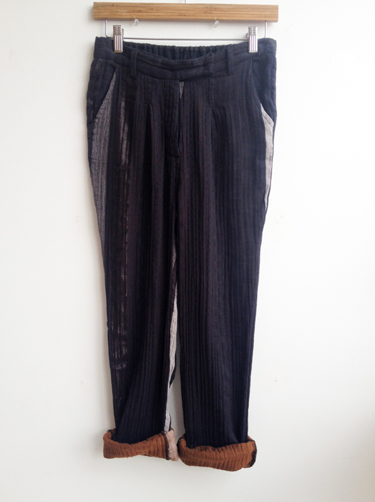 Ace & Jig Fall Trouser in Obsidian