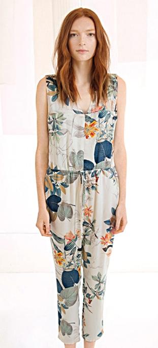 Dagg & Stacey Lottie jumpsuit - Floral Print