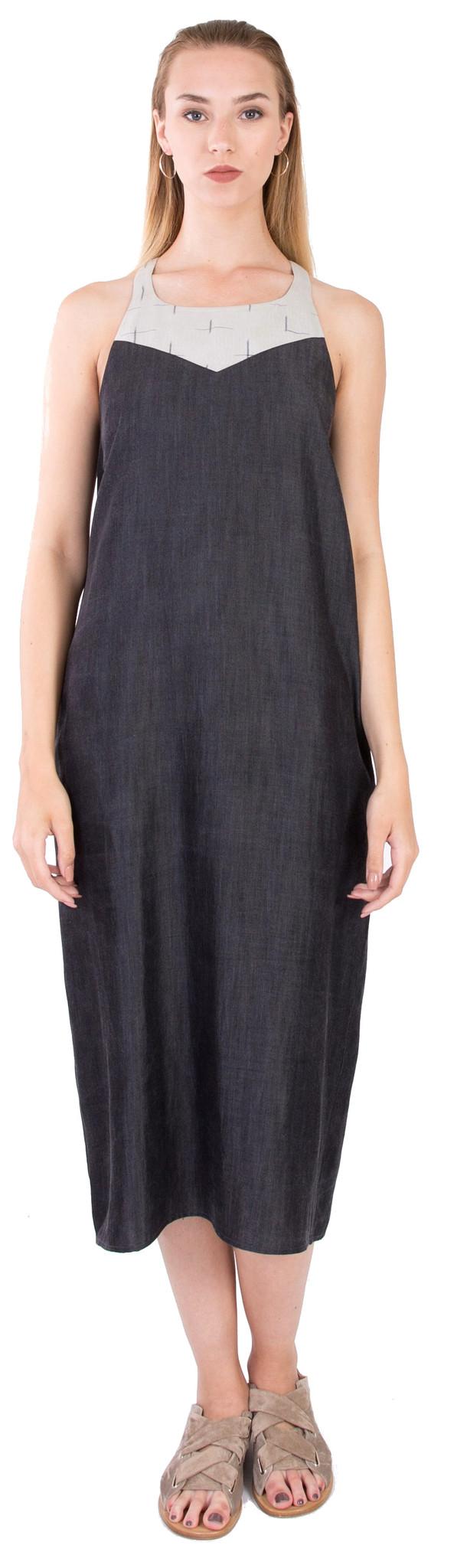 Laura Siegel Tencel Dress
