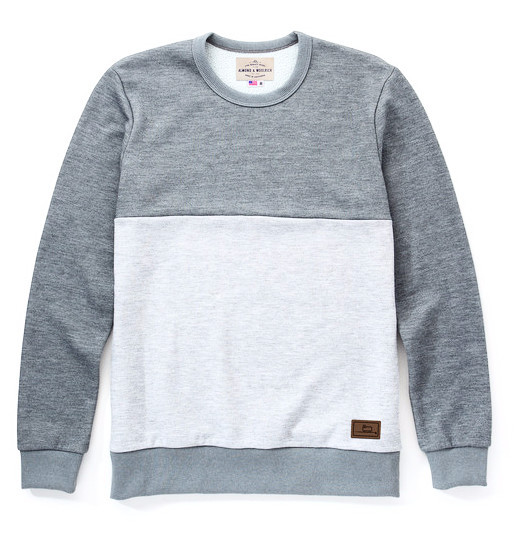 Men's Almond x Woolrich Davis Crew Neck