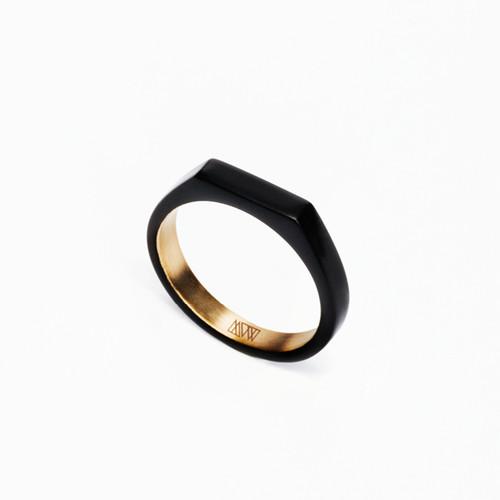 Ming Yu Wang Theorem Matte Thin Ring