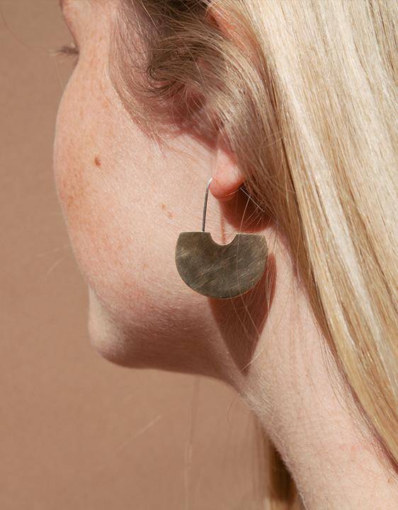 Kiki Koyote Aurora Hook Earrings
