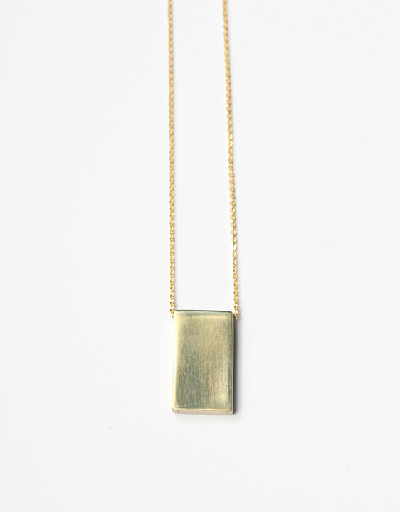 Laura Lombardi Square Necklace
