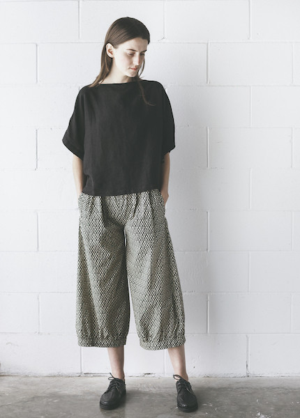 Ilana Kohn - Mo Pants in Black Checkers
