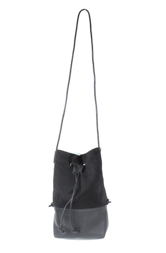 Minnie + George Hair-On Bucket Bag