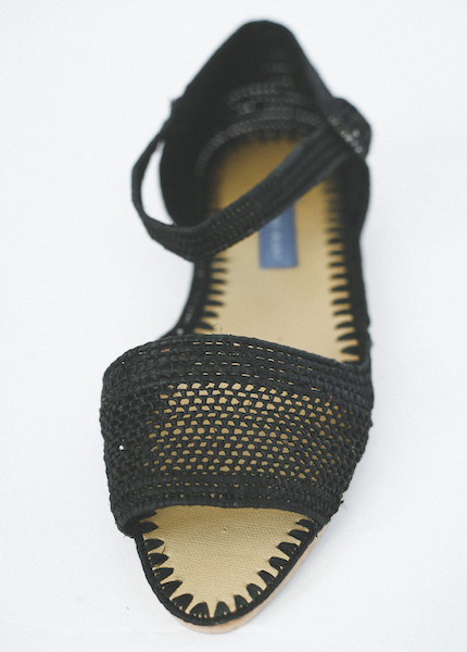 Proud Mary - Strappy Sandal in Black