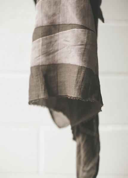 Block Shop Textiles - Bengal Violet Scarf