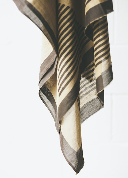 Block Shop Textiles - Temple Coffee Scarf