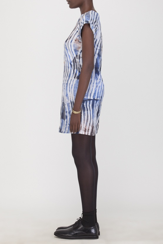 Osei-Duro Deni Raglan Dress | Waves