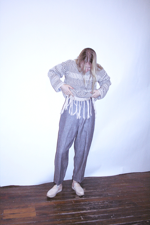 Study NY Linen Hollywood Pant