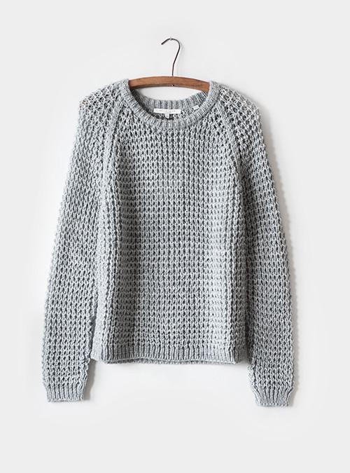Bella Luxx Waffle Knit Sweater
