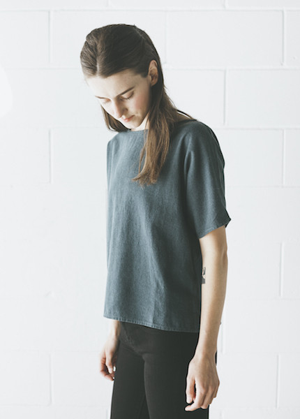 Me & Arrow - Sleeve Tee in Ultramarine