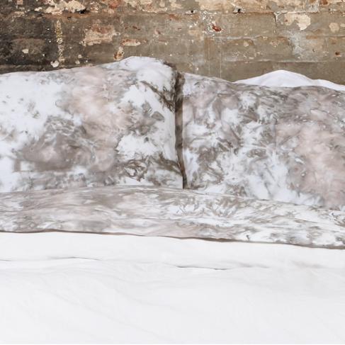 Saint Atma Tan Gradient Mist Bedding