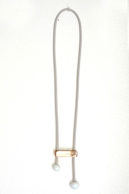 Jujumade note necklace