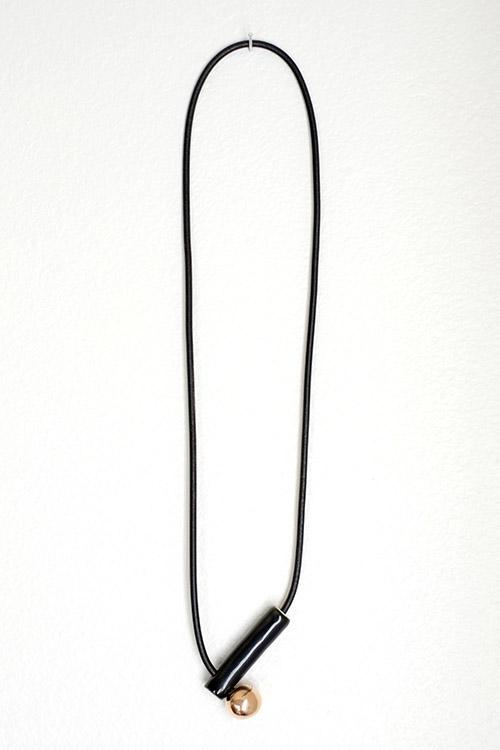 Jujumade pipe necklace