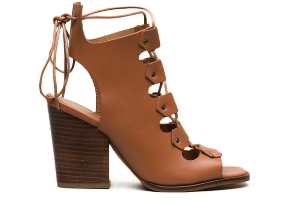 L'Intervalle Benjiro Sandals -Tan Leather