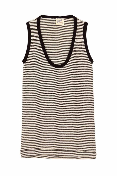 Edith A. Miller Scoop sleeveless tank
