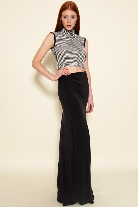 AWAVEAWAKE Floor-length circle skirt