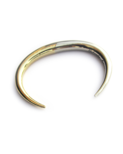 Gabriela Artigas Infinite Tusk Two Tone Cuff in Yellow and White