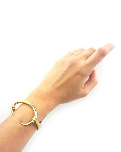 Gabriela Artigas Infinite Tusk  Reloaded Gold Cuff
