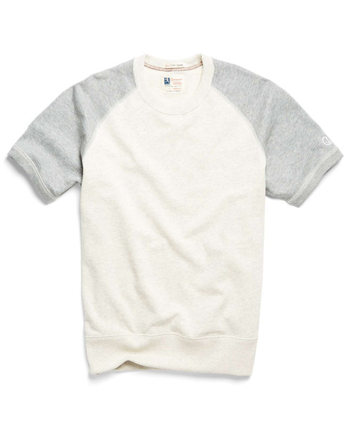 Men's Todd Snyder + Champion - Short Sleeve Sweatshirt