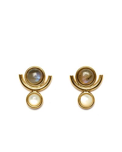Lizzie Fortunato New Age Reflection Earrings