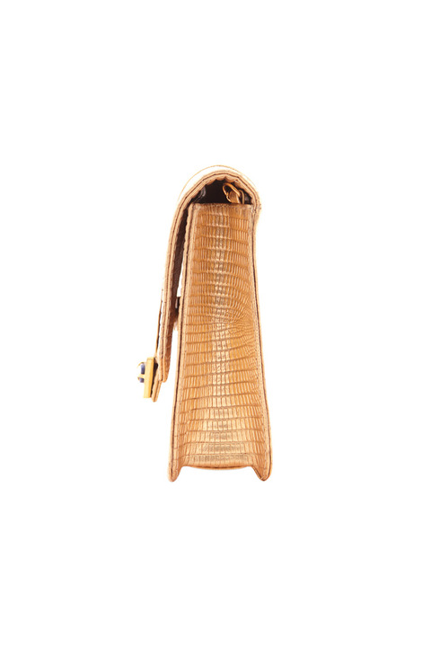 KHBEIS Lia gold shoulder bag