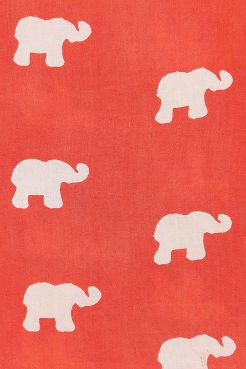 Symbology Marching Elephants Infinity Scarf