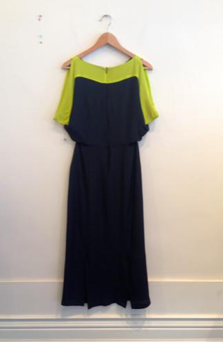 Wren Maxi Contrast Kimono Dress