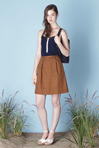 Betina Lou Clodelle Rouille Skirt