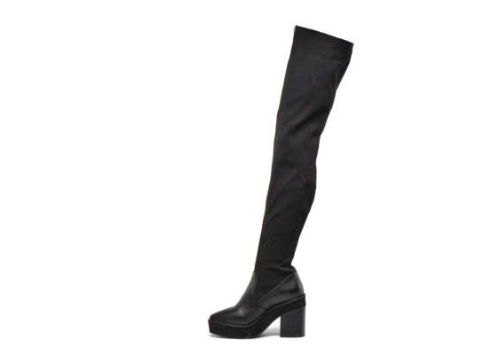 Intentionally Blank INFINITY OTK BOOT IN BLACK SCUBA