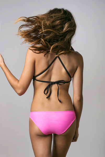 JUNE SWIMWEAR - JADE HAUT NOIR