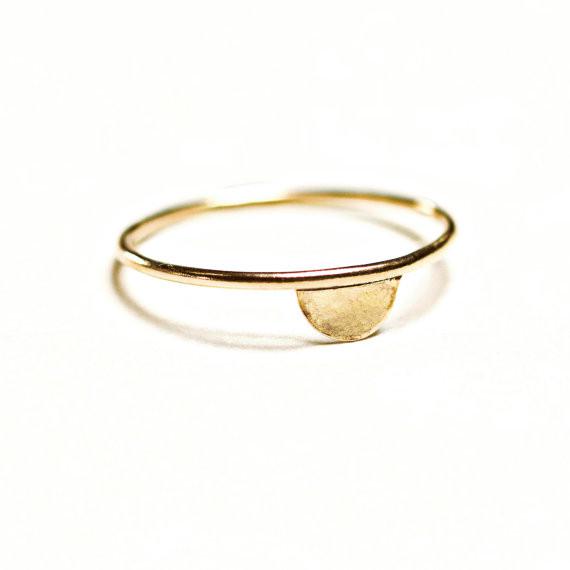 Hart + Stone Luna Lacuna Ring- Gold