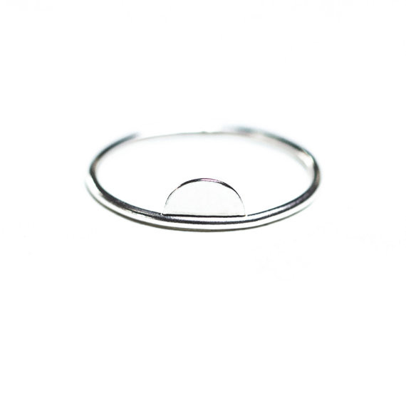 Hart + Stone Luna Lacuna Ring- Silver