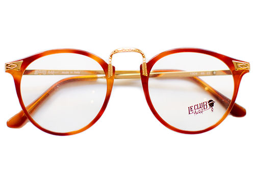 VINTAGE LE CLUB ACTIF 1304 HONEY GOLD FRAMES