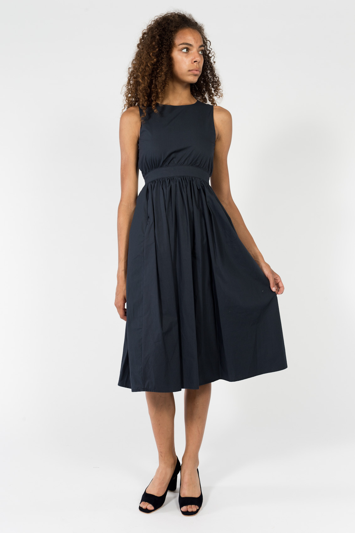 Objects Without Meaning Button Back Dress From Idun