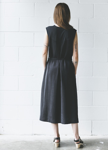 Zii Ropa  Narra Dress - Soft Black