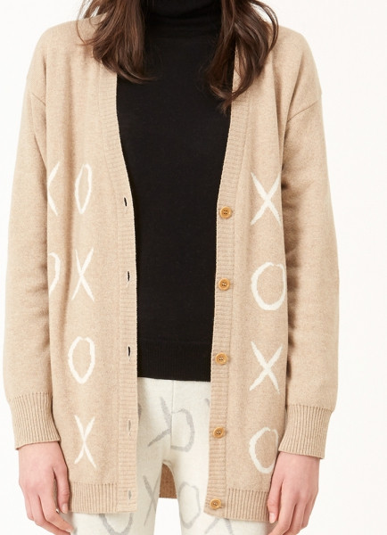 Royal Caballito XOXO Cardigan