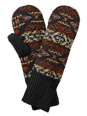 Pendleton Fleece Lined Mittens