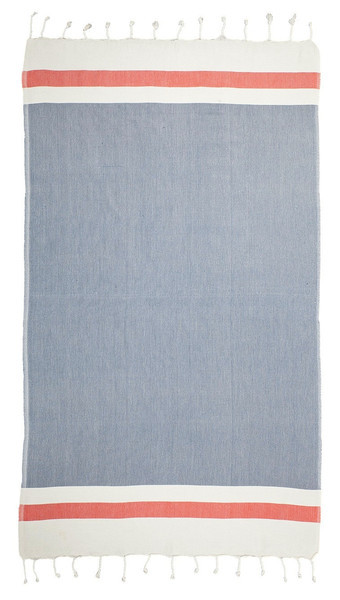 TAMA TOWELS / FOUTA LITHE - ROUGE MARINE