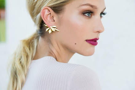 Anita K. Anita K Roots + Wing Front Back Single Earring