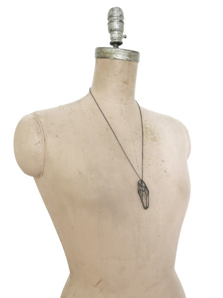 Elaine Ho - Dark Crystal Shard Necklace