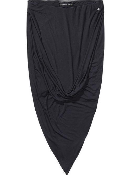 Maison Scotch Twisted Jersey Skirt