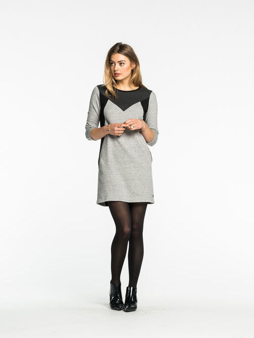 Colorblock Sweatdress